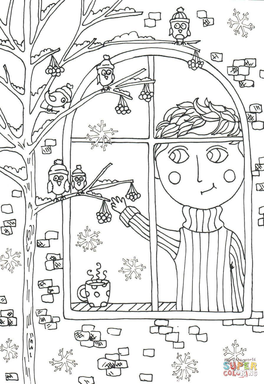 Peter Boy In November Coloring Page From Nature Seasons Category Select From 27237 Printable Craft Coloring Pages Fall Coloring Pages Cartoon Coloring Pages