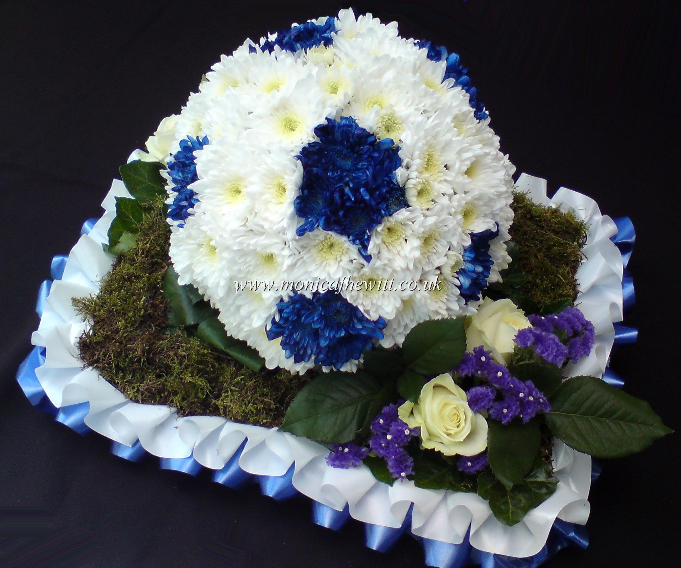 Football funeral flowers monica f hewitt florist sheffield decor football funeral flowers monica f hewitt florist sheffield izmirmasajfo