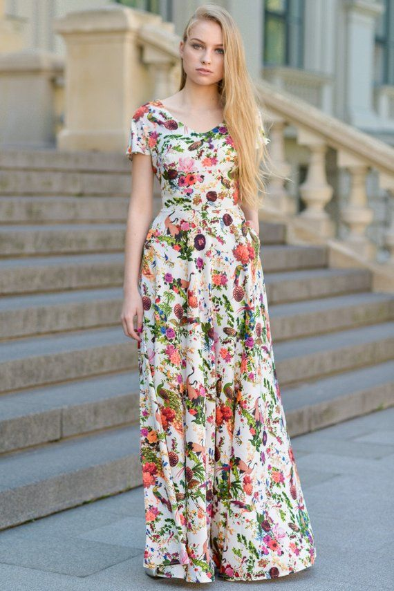 d14ffd9592dce Floral Maxi Dress