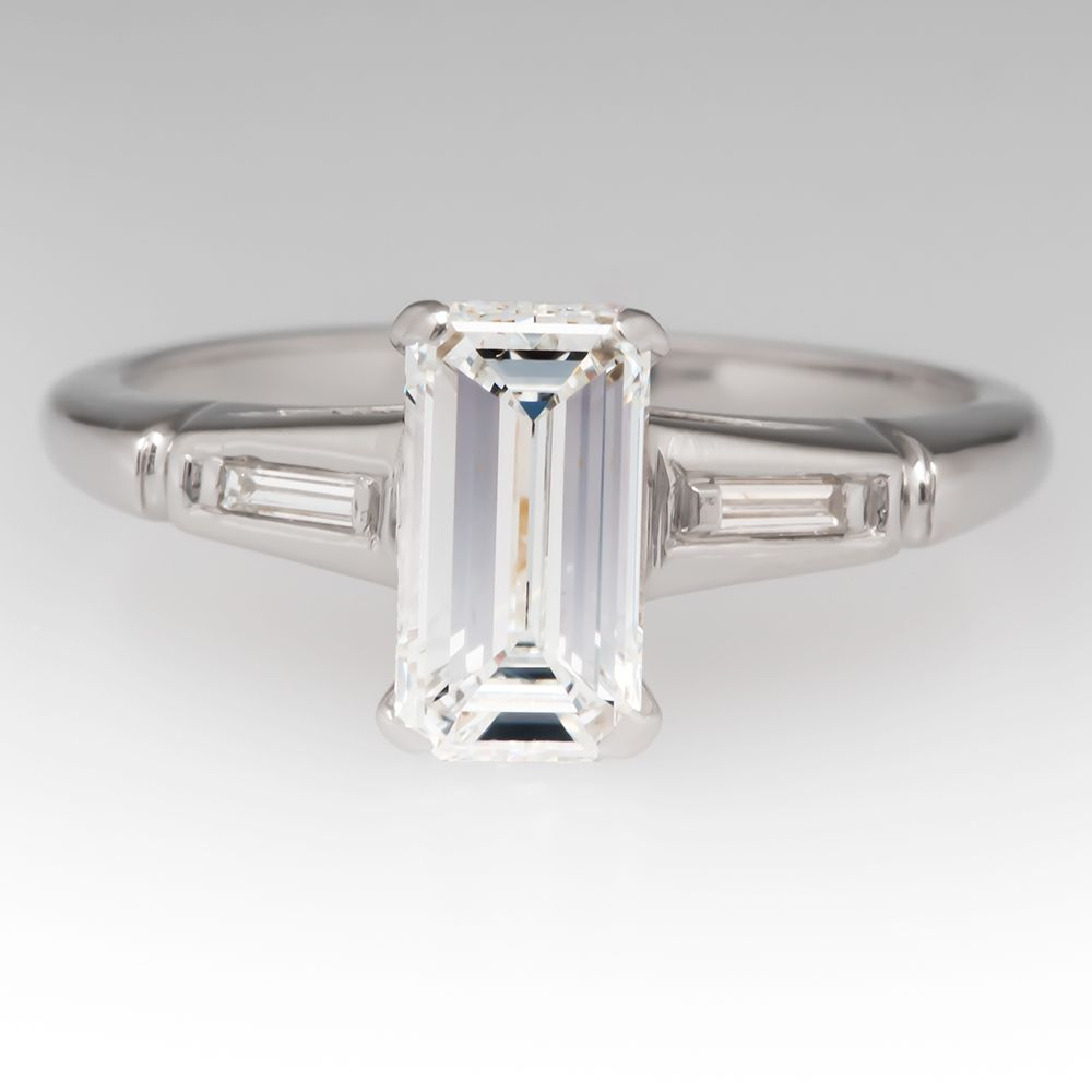 cut tw ring p in ct platinum eternity shop emerald diamond