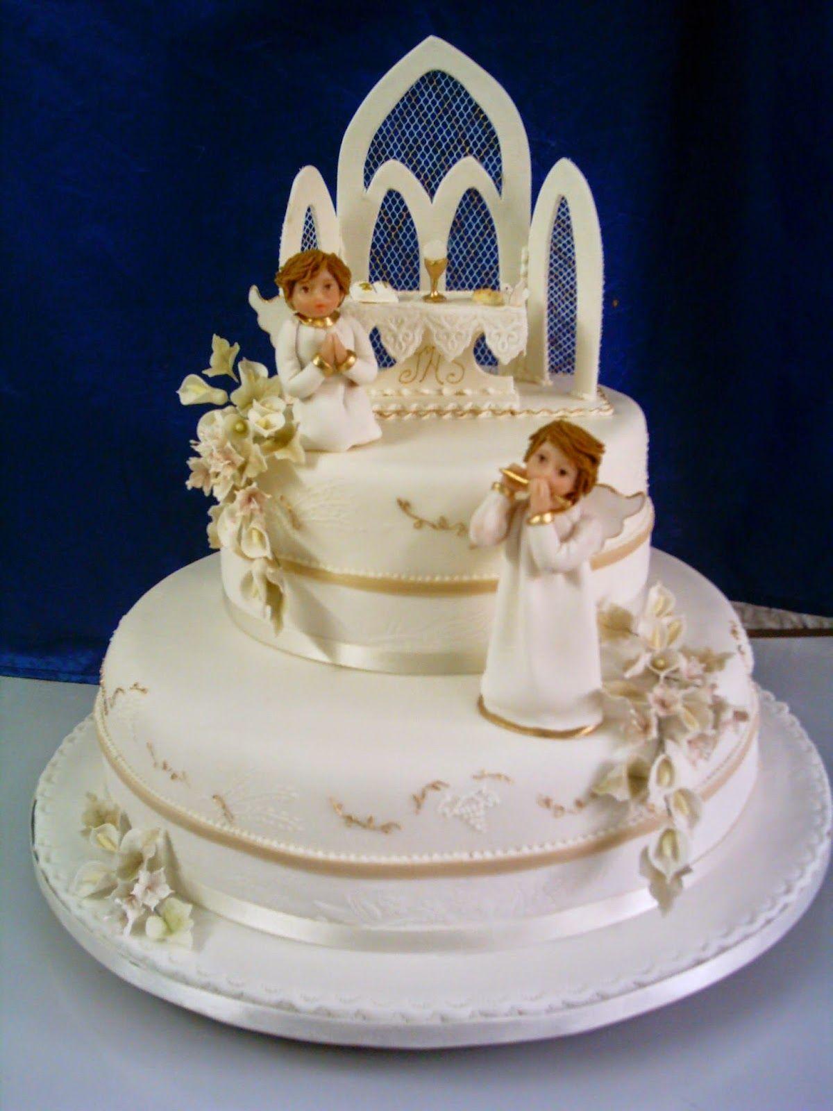Resultado de imagen para tortas de primera comunion | tortas ...
