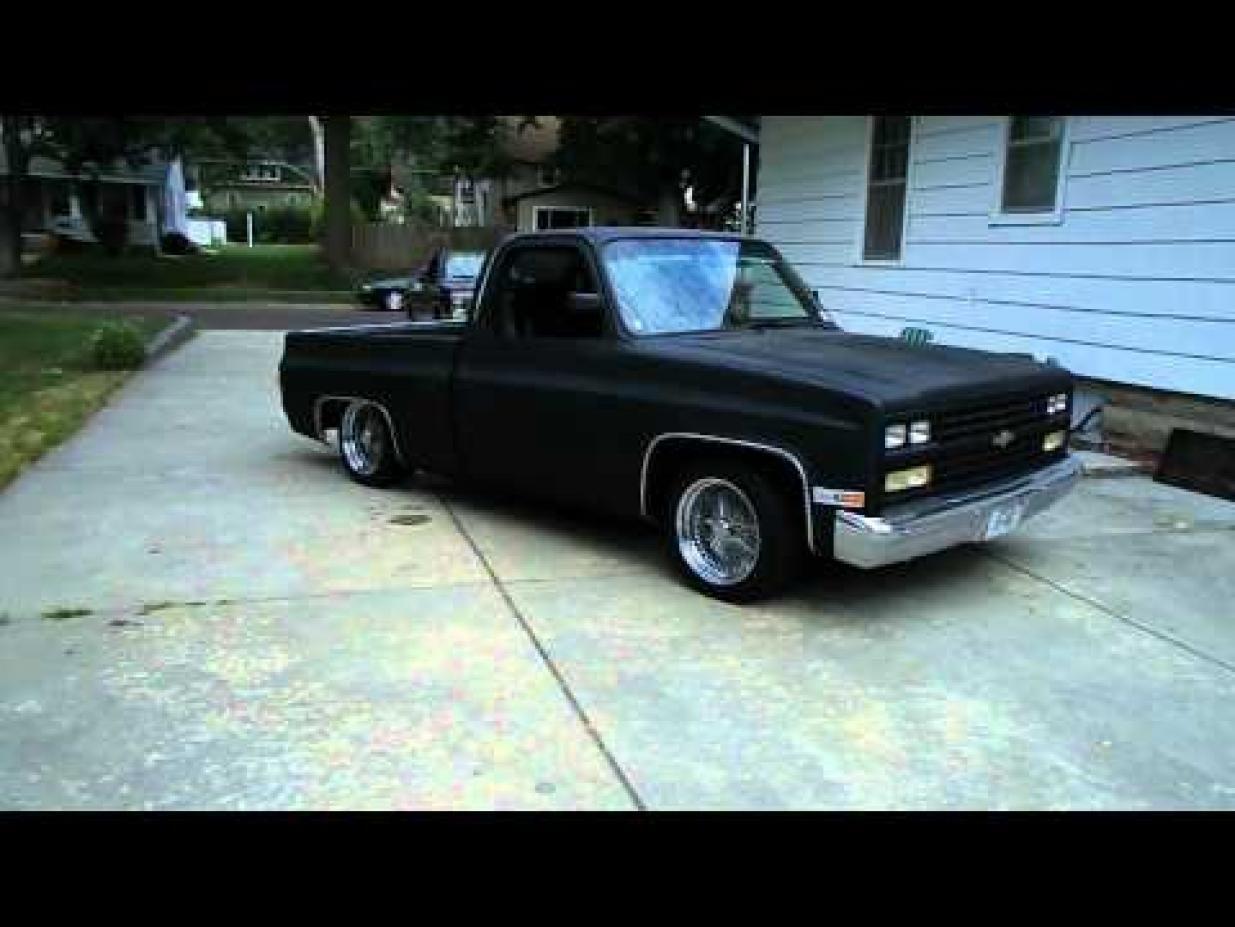 All Chevy 96 chevy : 84-96 chevy silverado low rider pics | 1987 Chevy Silverado Low ...