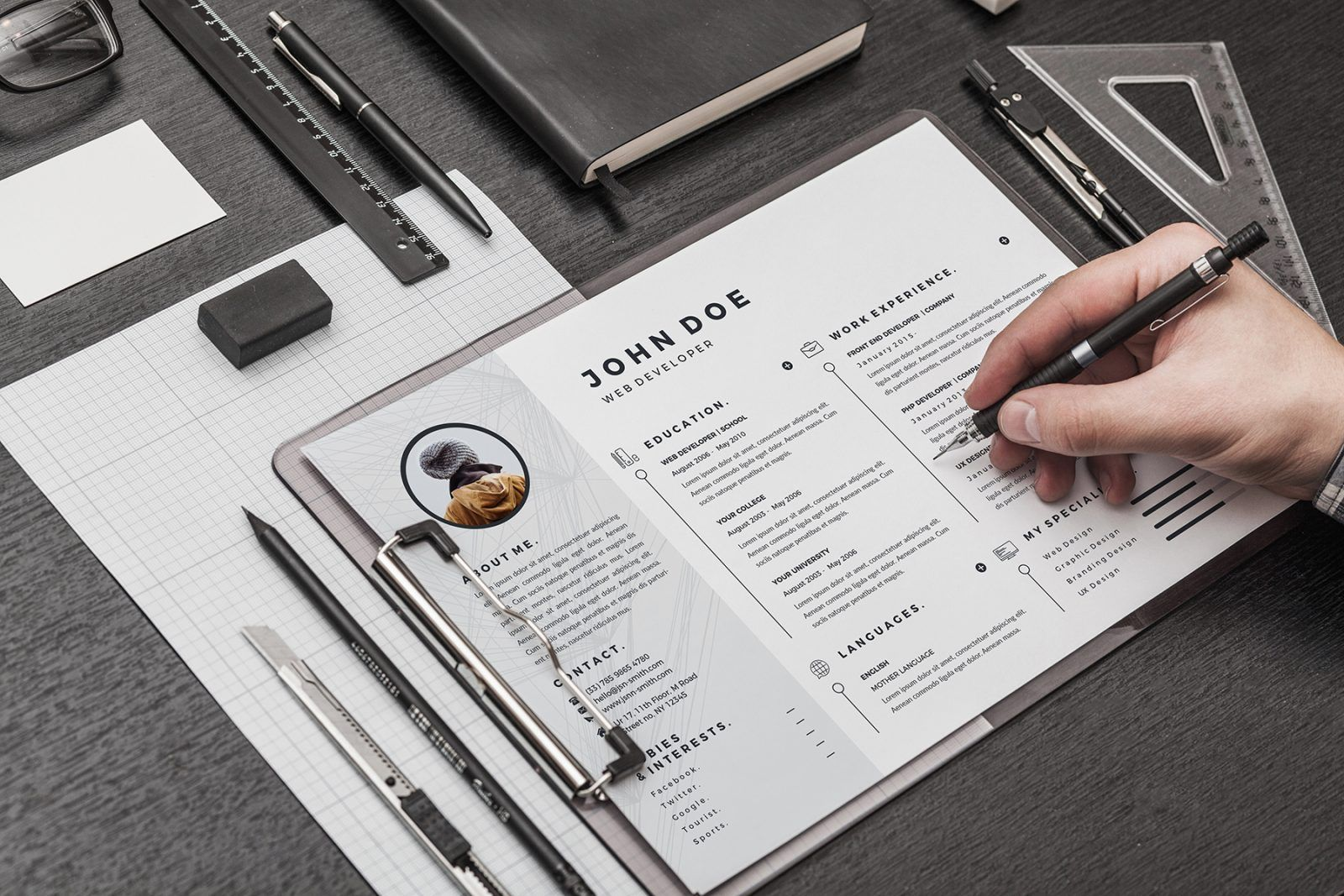 7 tips for designing the perfect resume with images