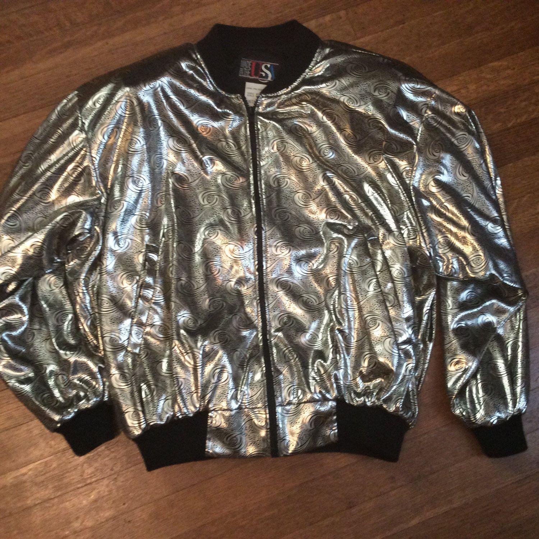 Reserve for tatum awesome eighties jacket shiney eighties jacket