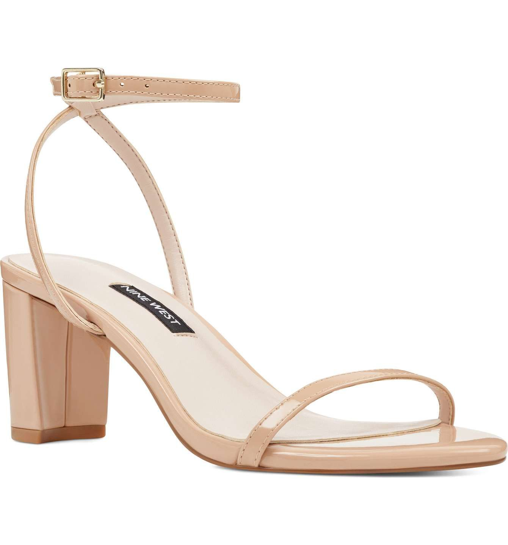 91fcb5bae Main Image - Nine West Provein Strappy Sandal (Women) | Heels ...