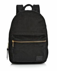 Herschel Supply Co. Women s Grove XS Corduroy Backpack Black 7.75