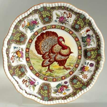 spode thanksgiving orange at replacements ltd - Thanksgiving China Patterns