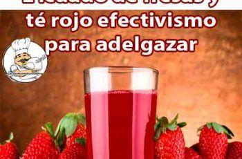 jugos rojos para adelgazar