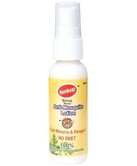 Runbugz Mosquito Repellent Lotion Buy Online At Best Price In