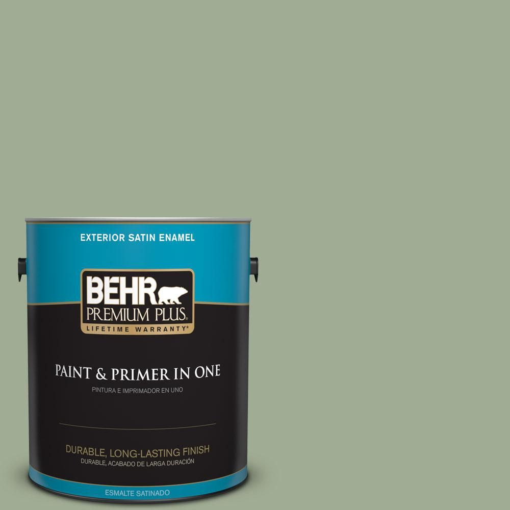 Best Behr Premium Plus 1 Gal S390 4 Roof Top Garden Satin 400 x 300