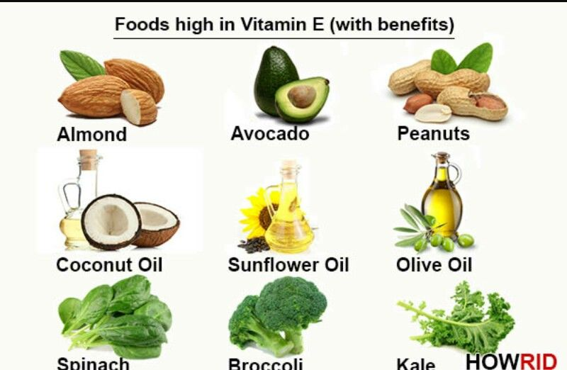 Pin On Vitamin A E Foods