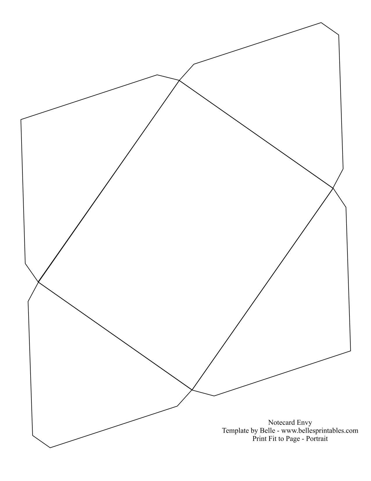 template for a envelope Cerca con Google – Small Envelope Template