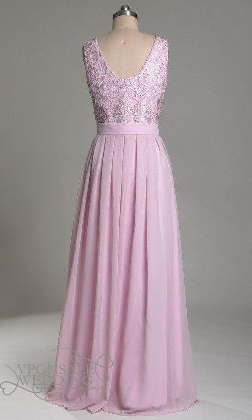 vintage floor length bridesmaids dresses