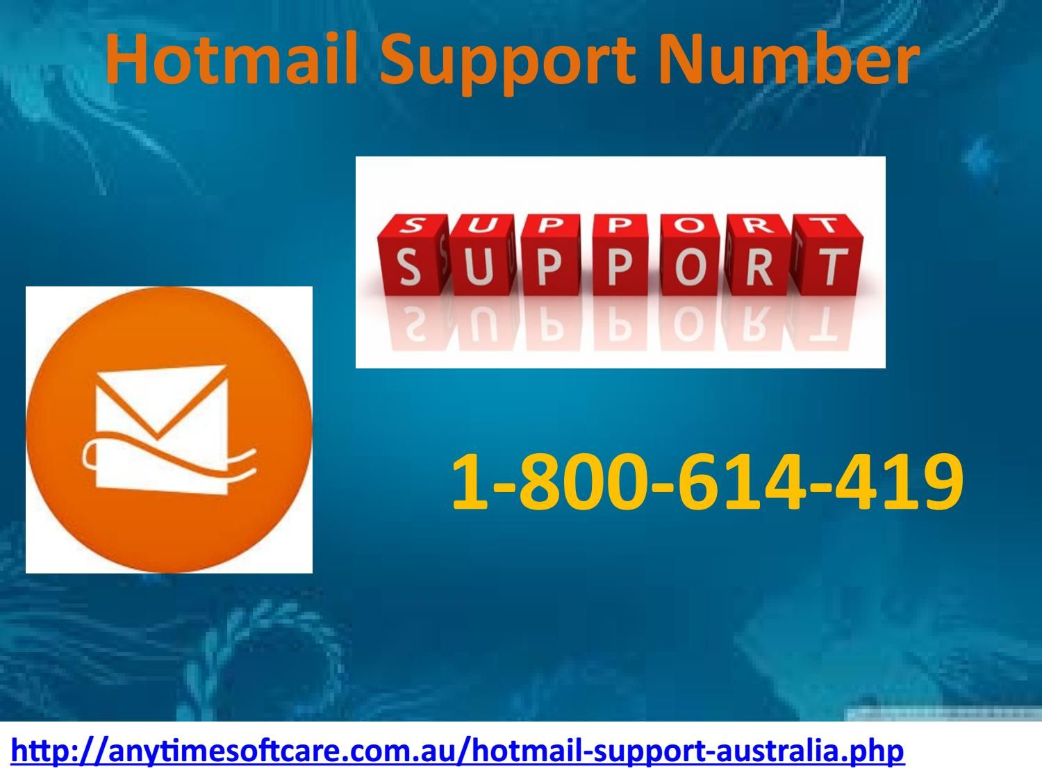 Dial 1800614419 for instant Hotmail Support Number