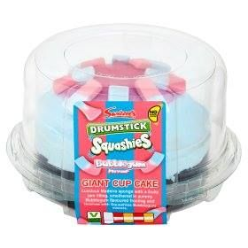 Delicious Swizzels Bubblegum Squashies Cake Available In Asda