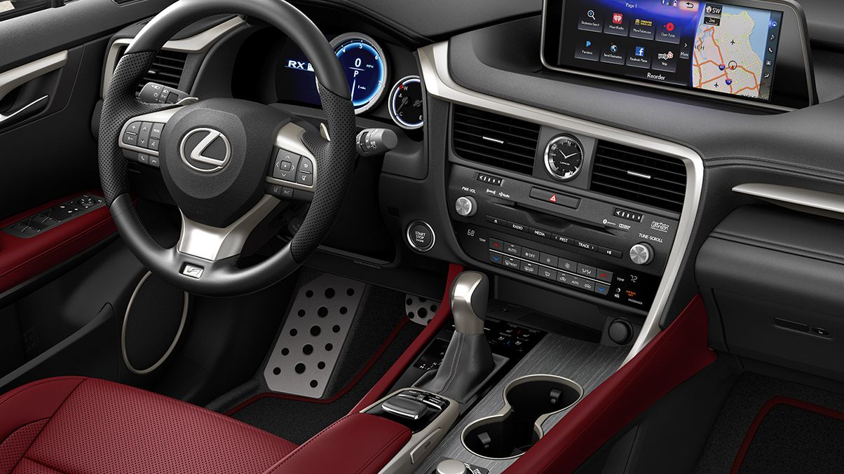 The 2018 Lexus Rx350 Has Even More Interior Luxury Than Previous Models Lexus Lexus Rx 350 New Lexus