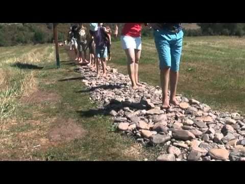 Der Barfußpfad in Bad Sobernheim - YouTube