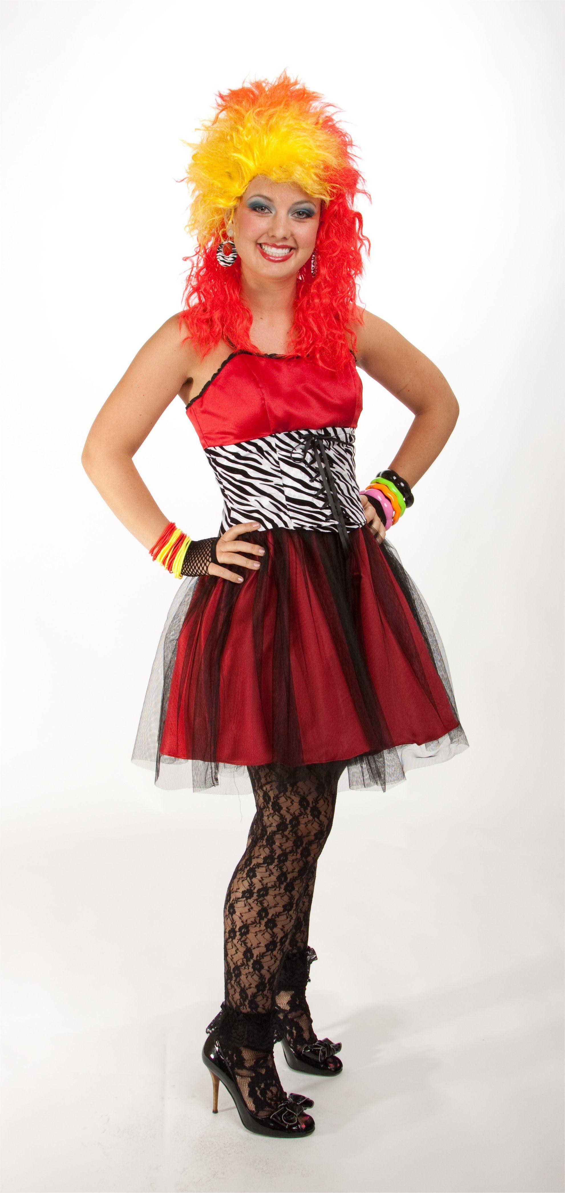 The dress halloween costume - Rocker Girl 80 S Halloween Costume Ideas 80soutfits