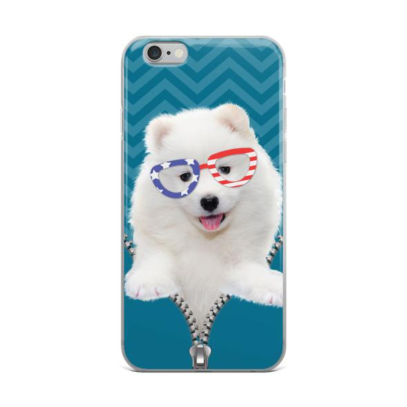 Independence day gift Samoyed iPhone case | Iphone cases ...