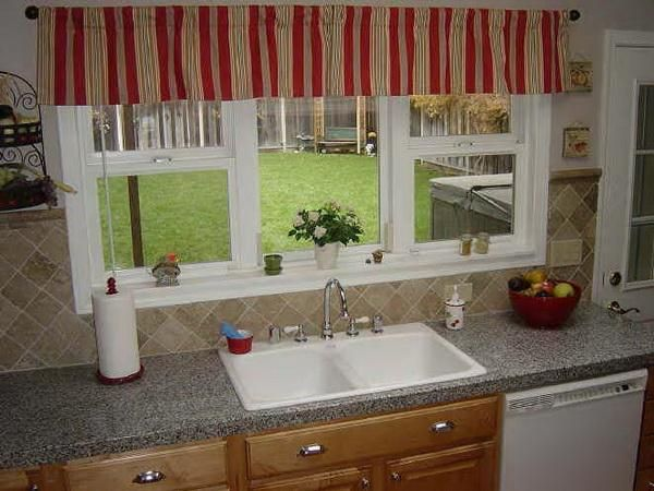 Window Treatments For Kitchen Window Over Sink images | Home Ideas ...