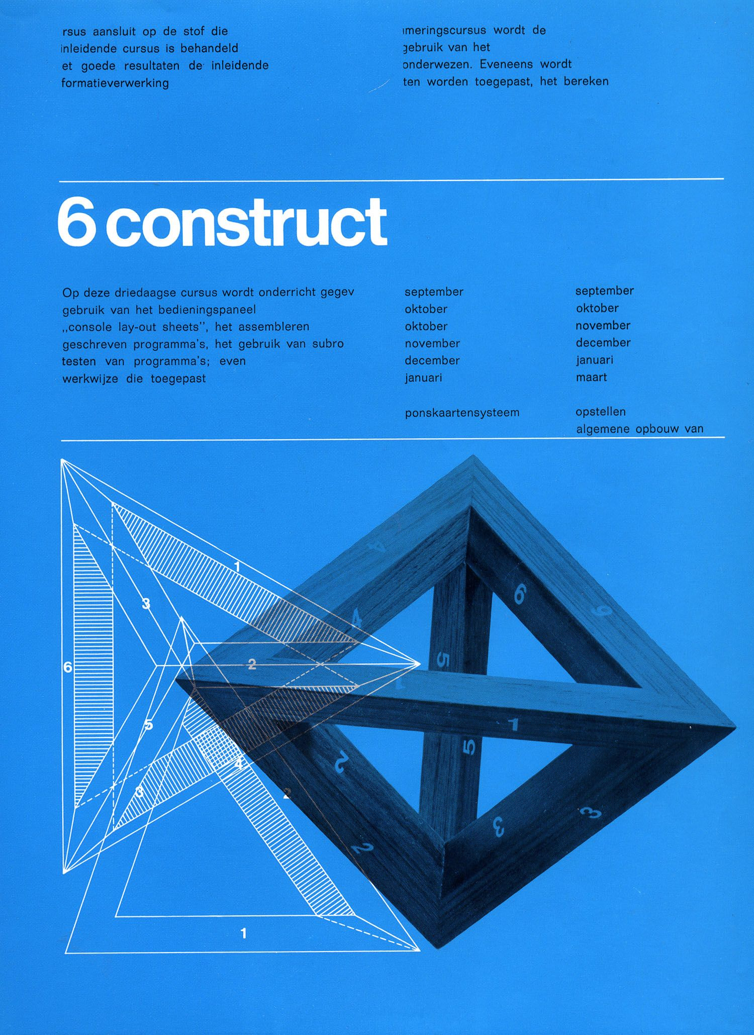 6 construct cursus [ontwerp], Benno Wissing