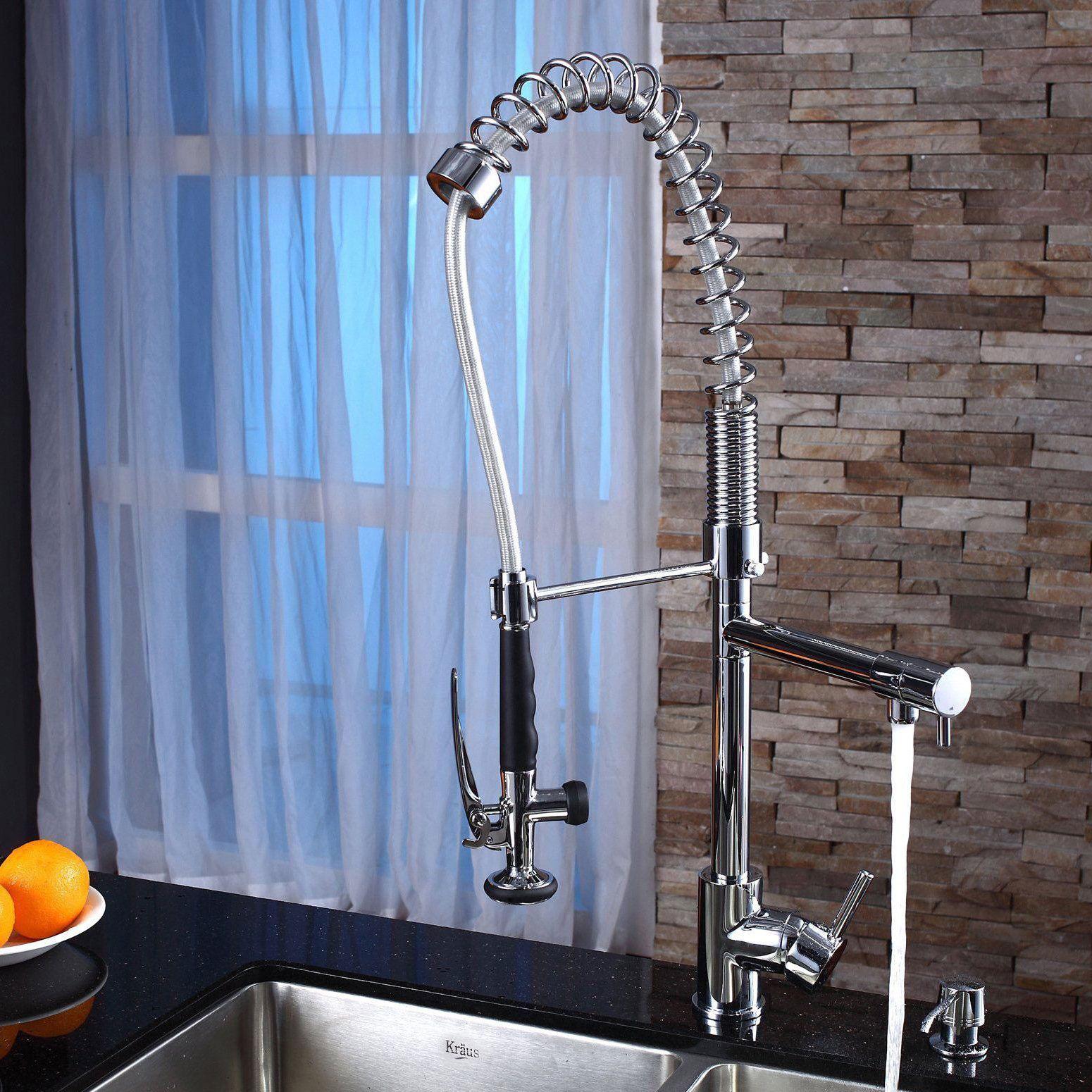 Kraus 33 Inch Undermount Double Bowl Stainless Steel Kitchen Sink ...
