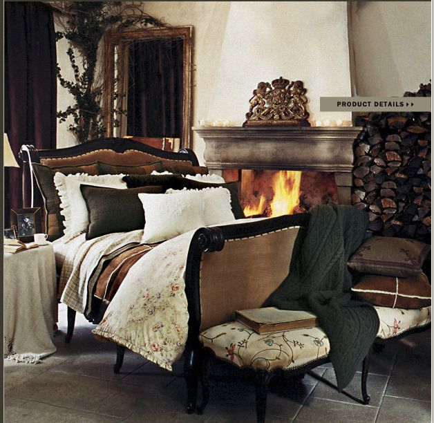 Ralph lauren home st germain collection castle french for Ralph lauren decoration