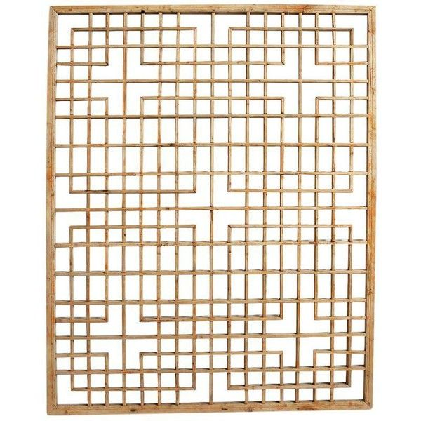 Antique Chinese Window Screen ($1,067) ❤ liked on Polyvore