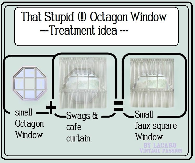 Octagon Window Doesn T Go With Your Decor Can T Really Get A