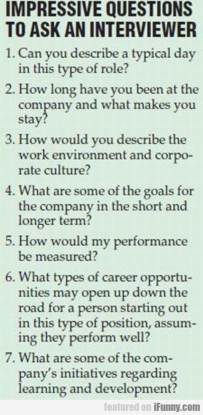 Impressive Questions To Ask Professional Pinterest Job
