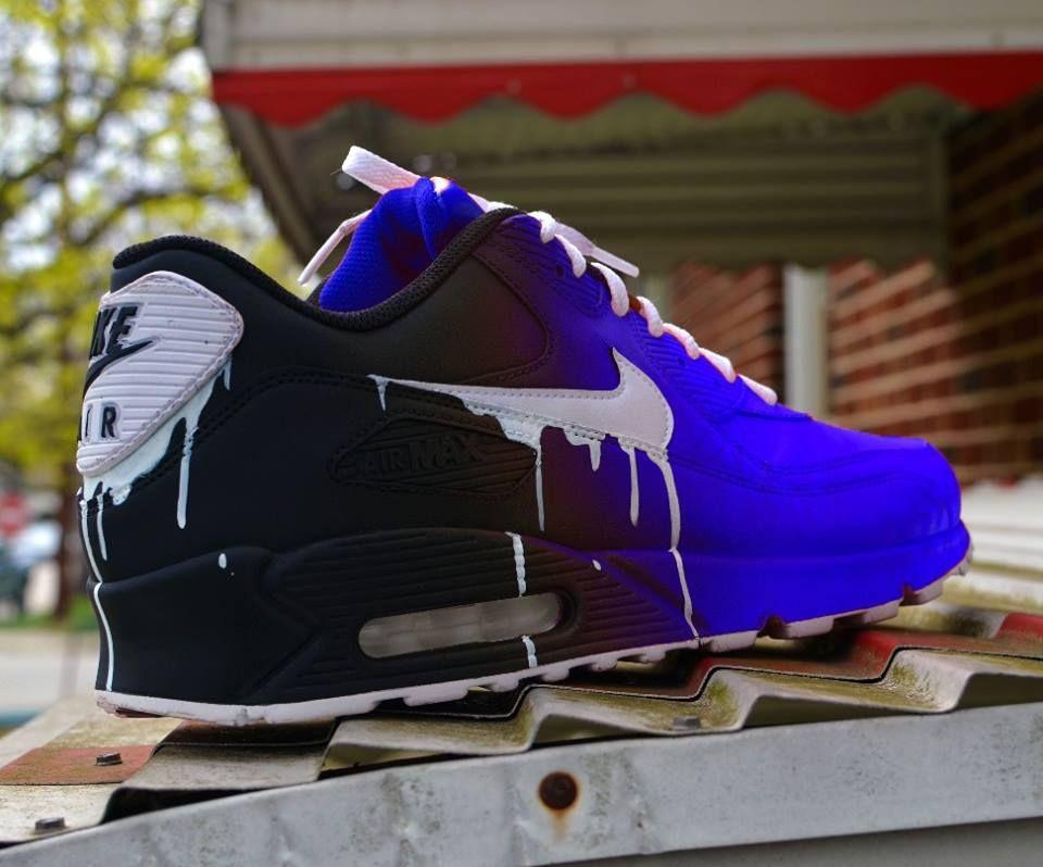 2019 90 Max 10 Air In Nike Turnschuhe CustomsSneaker Top 45ALRj