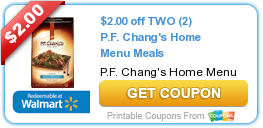 graphic about Pf Changs Printable Menu titled $2.00 off 2 (2) P.F. Changs House Menu Food items Discount codes