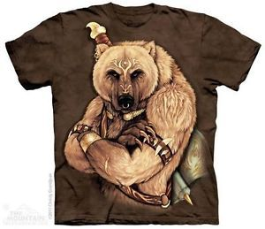 Details about   MEN'S T-SHIRT TRIBAL BEAR STONEWASHED MULTICOLORED GRAPHIC TEE SIZE SMALL http://zingxoom.com/d/cwHHJ7Lq