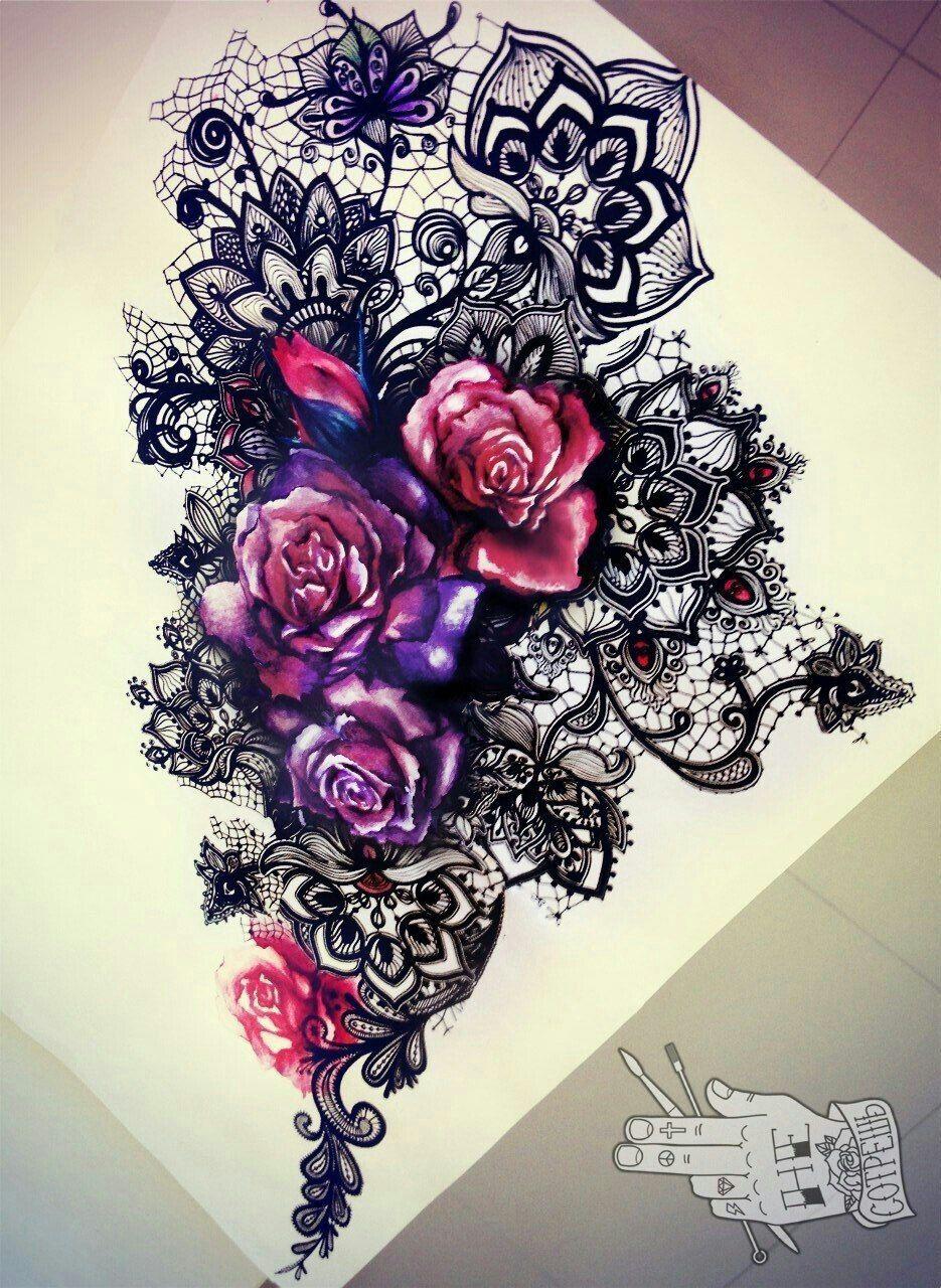 Pin By Malinda Johnson On Tattoos Lace Tattoo Design Lace Tattoo Black Lace Tattoo