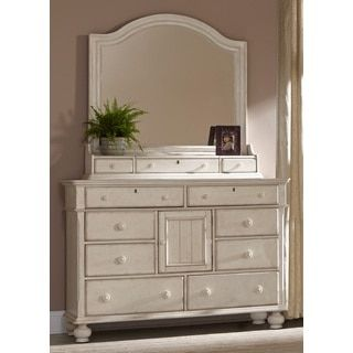 Shop for Laguna Antique White Dresser and Optional Mirror with Storage Box by Greyson Living. Get free shipping at Overstock.com - Your Online Furniture Outlet Store! Get 5% in rewards with Club O! - 17212155