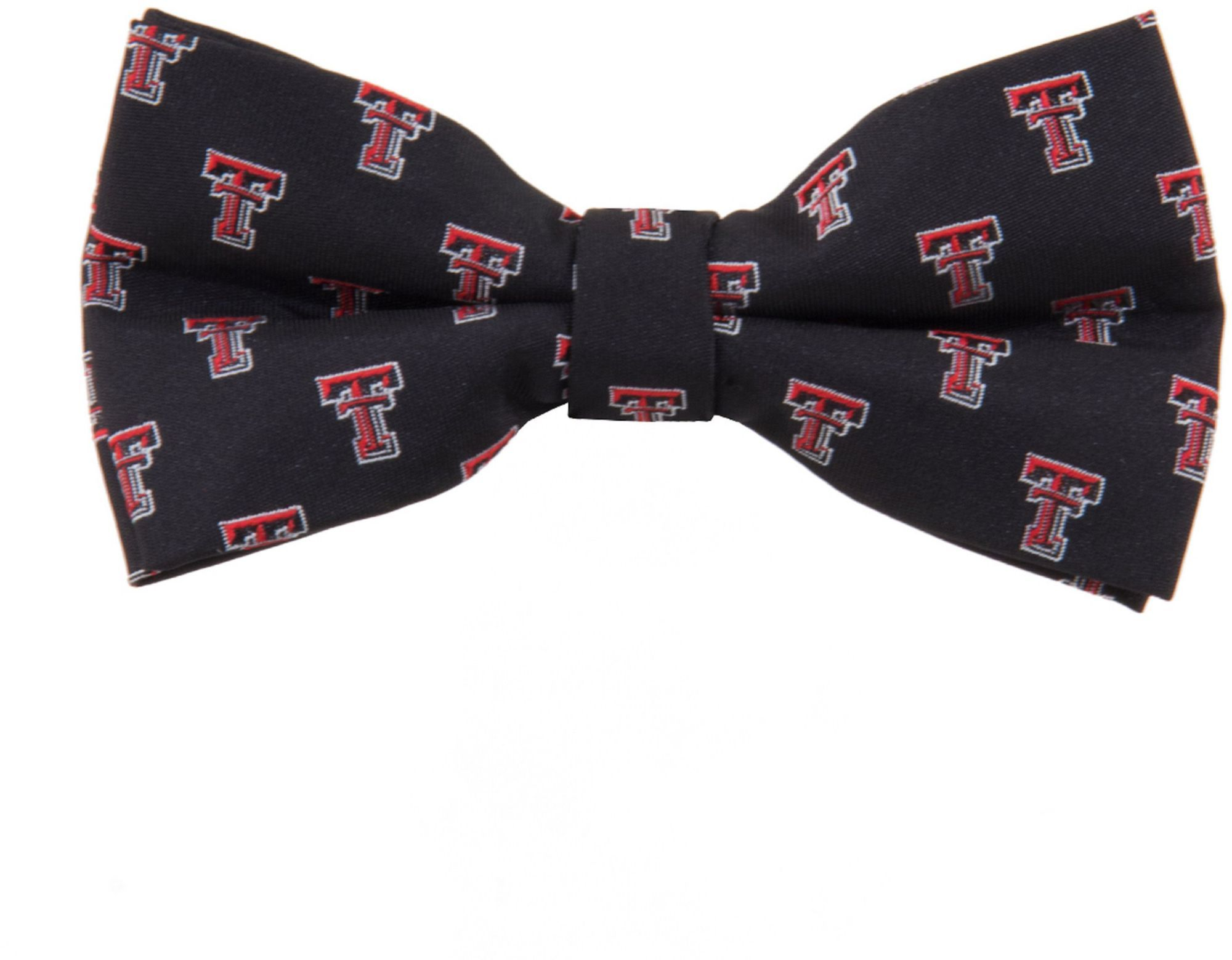 NCAA College Team Logo North Carolina Tarheels Checked Logo Bow Tie