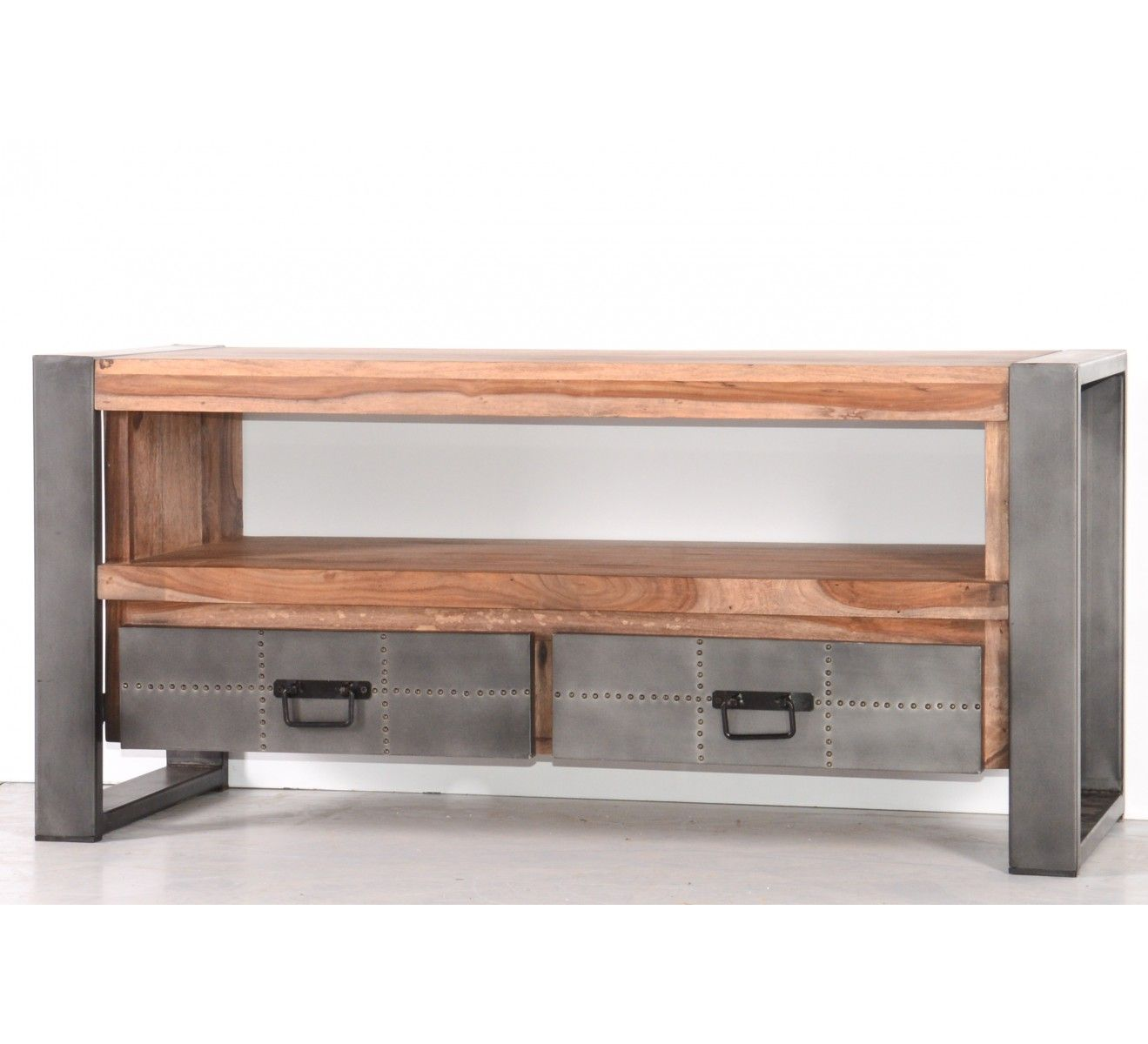 meuble tv 120 cm industry en