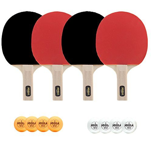 Joola All In One Table Tenni Set Includes 4 Rackets 8 Deal Todaypaddleschristmas Dealsping Dealsonline