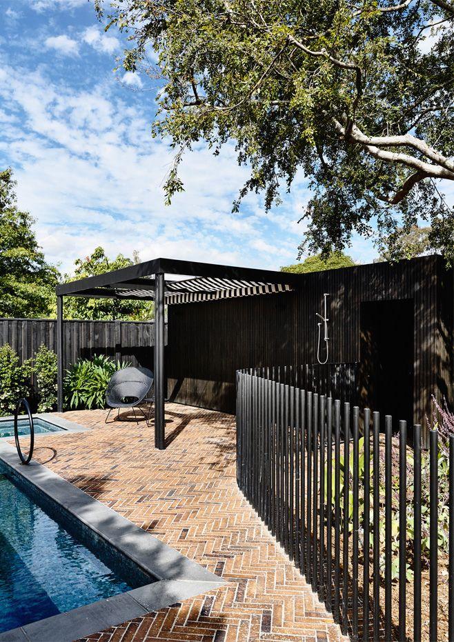 Pool Landscaping, Fence Design, Backyard Fences