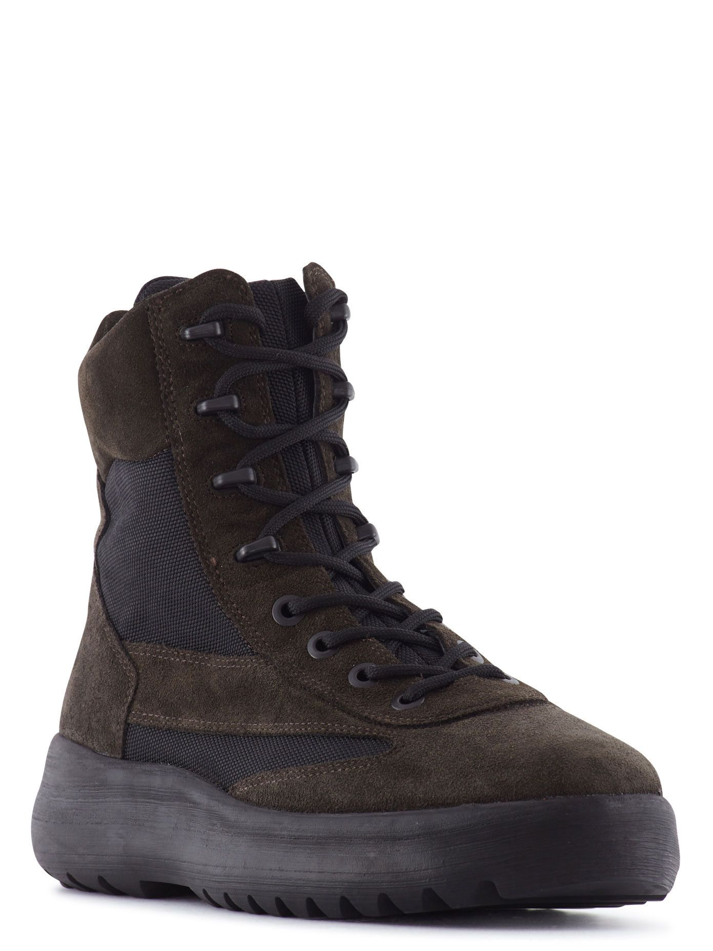 4f2cdfa2815 Yeezy Season 5 - Suede And Mesh Military Boots