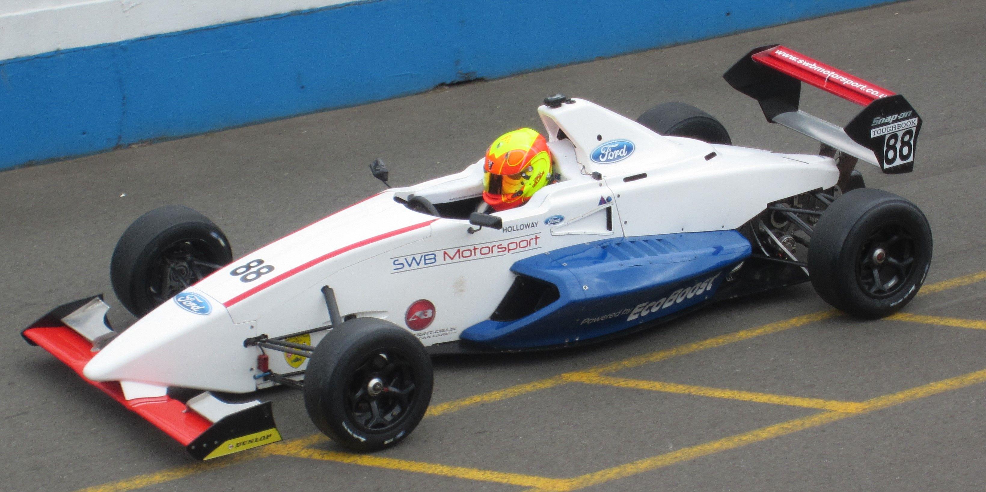 Sinter LA12 Greg Holloway MSA Formula Ford