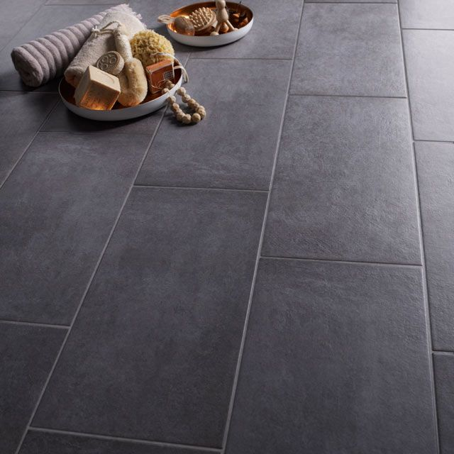 carrelage sol et mur smoke 30 x 60 4 cm merano castorama d co au salon pinterest bath. Black Bedroom Furniture Sets. Home Design Ideas