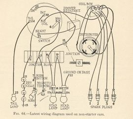 1925 model t ford wiring diagram for home alarm system 1915 6 stromoeko de forum touring need help antique cars rh pinterest com schematic