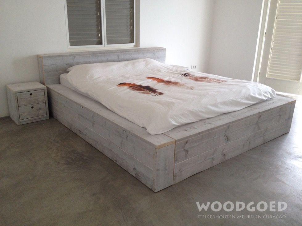 Afbeeldingsresultaat voor steigerhout achterwand slaapkamer ...