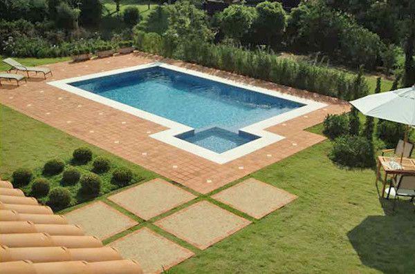 Pisos para rea externa piscinas modelos piscina e for Ceramicas rusticas para pisos
