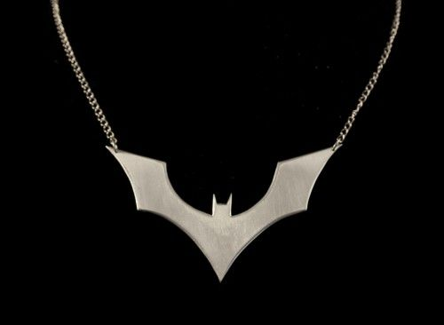 Batman Beyond Necklace in Sterling Silver meagandibb Jewelry on