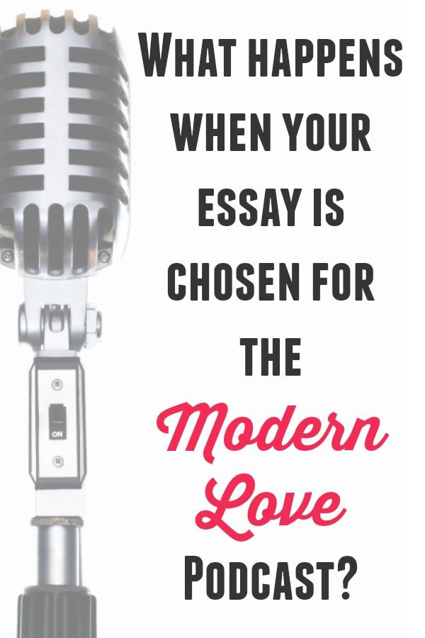 Business Etiquette Essay In  I Got An Email From Daniel Jones Editor Of The Modern Love Column  In The New York Times In Which He Explained The Podcast That Was Launching   Critical Essay Thesis Statement also How To Write An Essay For High School Students What Happens When Your Essay Is Chosen For The Modern Love Podcast  Thesis Statement Analytical Essay