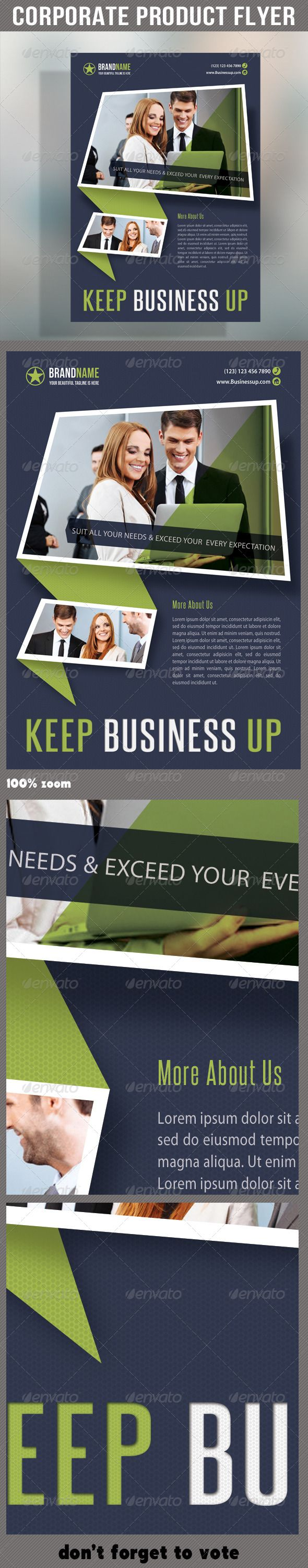 corporate product flyer flyer template adobe and psd flyer corporate product flyer 52 graphicriver pack included psd flyer template a5 210times