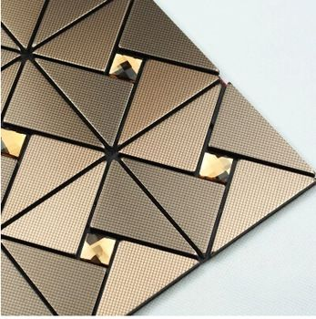 6x6 Yellow Lone Stone Adhesive Mirror Tiles Find