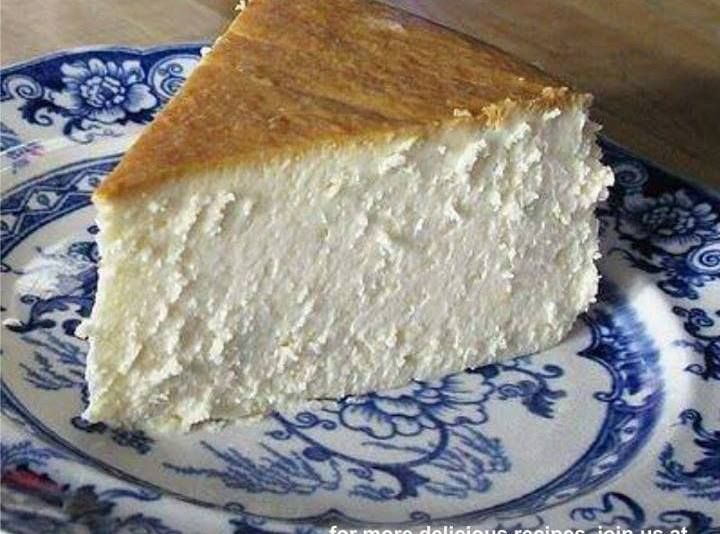 The Best New York Cheesecake Did You Notice There Is No Crust D Desserts Best Cheesecake Dessert Recipes